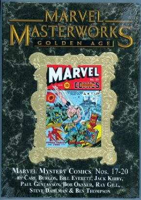 Marvel Masterworks #149 Golden Age Marvel Mystery Comics Direct Market Gold Foil Variant Hardcover
